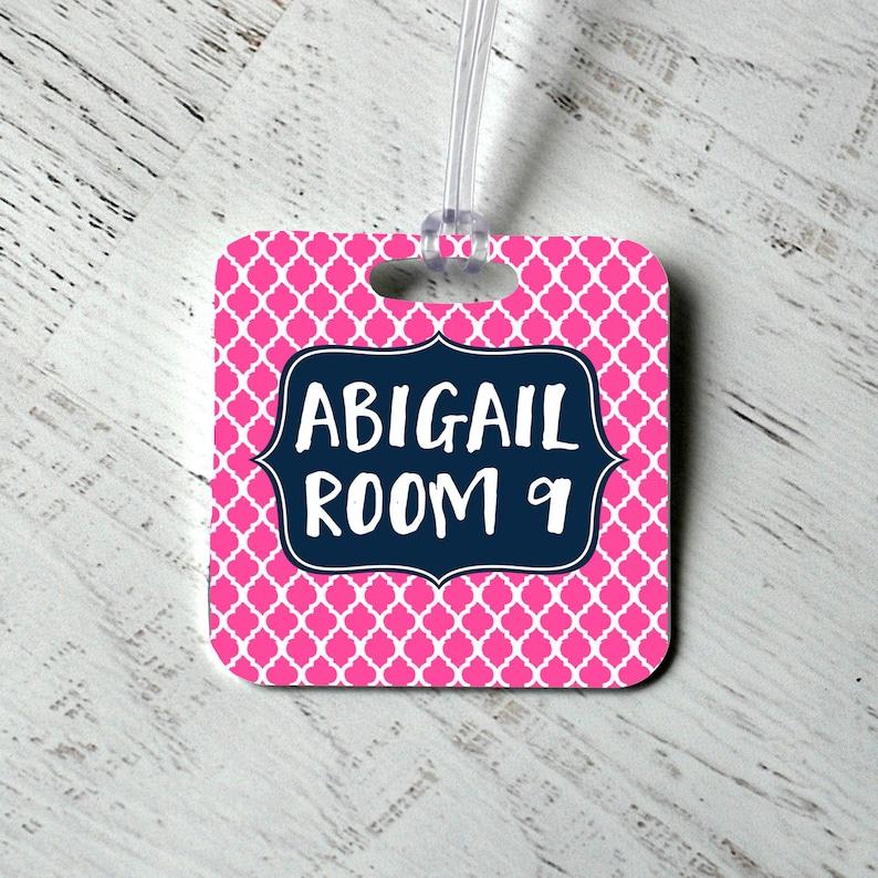 Custom Bag Tag  Backpack Name Tag  Personalized Diaper Bag image 0