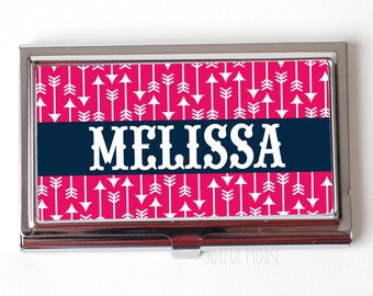 Personalized Business Card Case - Custom Business Card Case