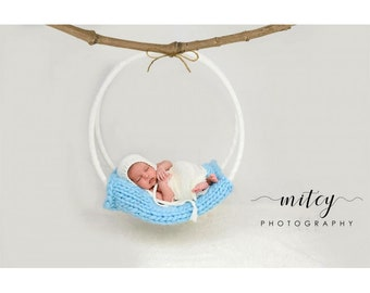 Newborn Baby Dream Catcher Swing Hanging Basket Photo Prop Photography, Dreamcatcher