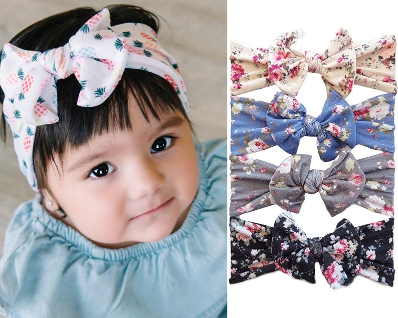 Baby Headbands Baby Head wrapsNylon Baby headbands nylon image 0