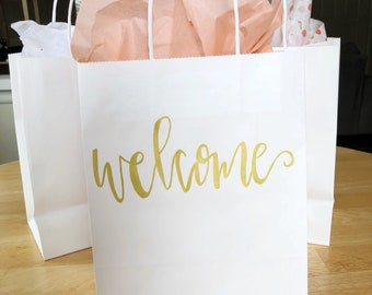 Hotel welcome bag | Etsy