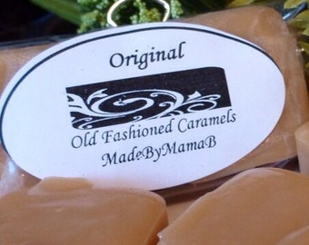 Customize Your Box of 16 extra creamy, old fashioned, homemade caramels - choose from endless indulgent flavors