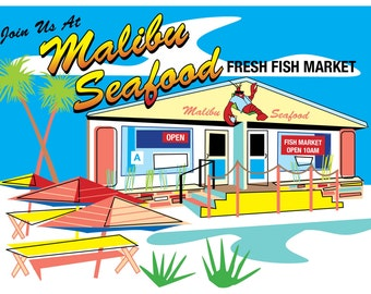 Join Us At Malibu Seafood!
