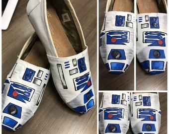 Custom Painted R2D2 Toms