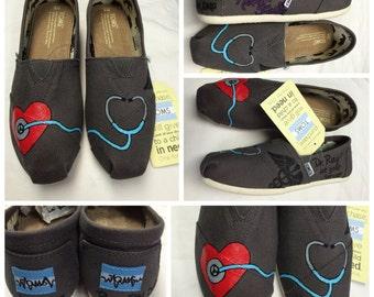 Custom Painted Nursing Toms