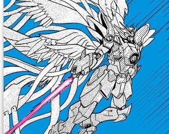Gundam Wing Poster