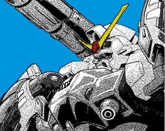 Gundam RX-78GP02A Physalis Poster