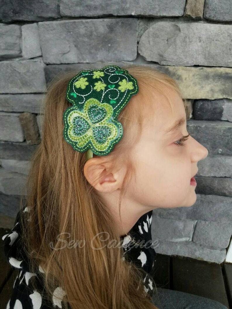 Shamrock Tiara Patrick/'s Day Tiara Wand /& Headband ~ St Wand and Headband ~ Lucky Clover Tiara ~ Irish Tiara ~ Ireland Tiara and Wand