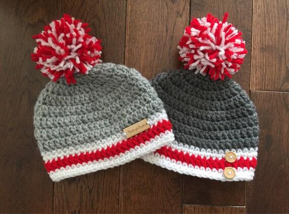 Häkeln Sie Arbeit Socke Hut Foto-Prop Herbst-Mütze | Etsy