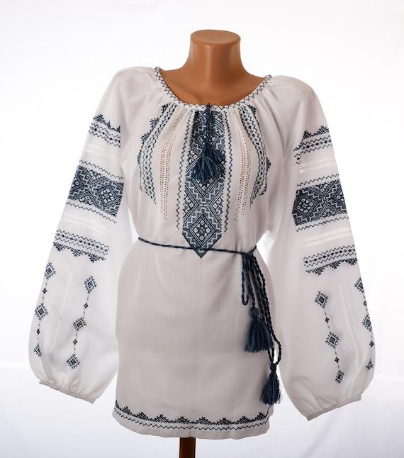Ukrainian Sorochka Women's Traditional 103 National art Embroidered Blouse Folk Embroidery Hand 5XL 06 Ethnic Clothing Vyshyvanka Size rxARqrU