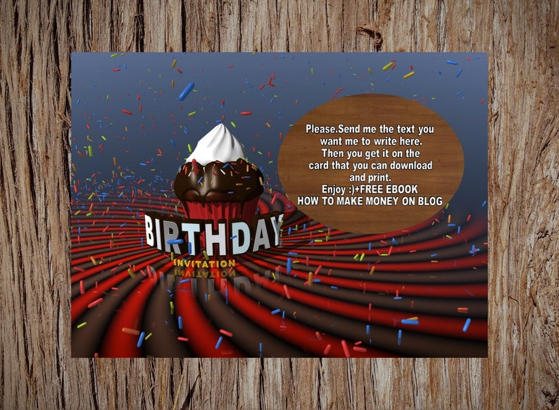 Printable Birthday Cards Wishes Happy