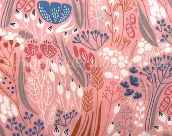 Metcombe Pink- Whitehaven Collection, Feena Brooks, Cloud 9 Fabrics, Certified Organic Cotton, Quilting Weight