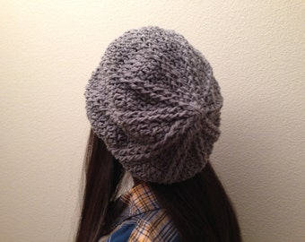 03ba6bfcf646a Crochet Beret Hat