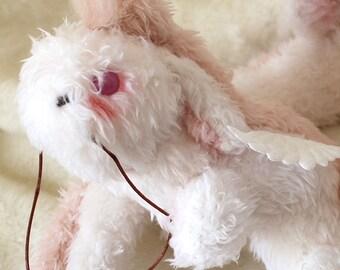 Dragon Fluffy creature art dolls fantasy art dolls