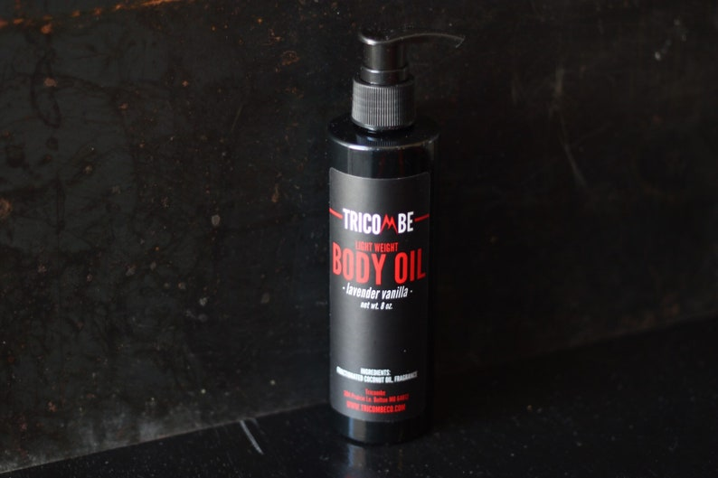Tricombe Lavender-Vanilla Light Weight Body Oil MCT Oil Oil image 0