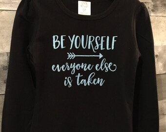 Be Yourself Applique
