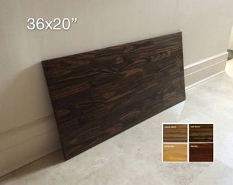 """36x20"""" Spruce Wood Table Top, Tabletop, Wood Desk Top, DIY Table, Desk Top. Made to Order. 4 COLORS AVAILABLE.  Free Shipping!"""