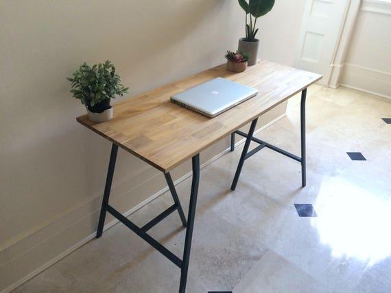 Bon Long Narrow Desk/ Table On Ikea Legs. CHOOSE ANY SIZE. Free | Etsy