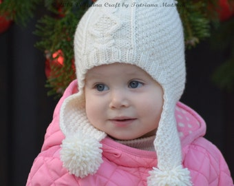 Knitting Pattern - Frosty Morning Set (Hat + Cowl + Mittens) - Child sizes 603056ab558