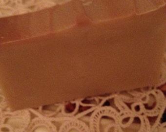 Vanilla cream soap gourmet!