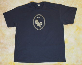 d3fbb7d9b Grateful Dead Jerry Garcia Tiger Lot Shirt Screen Print Gildan Hammer S-2XL  Free Shipping Black