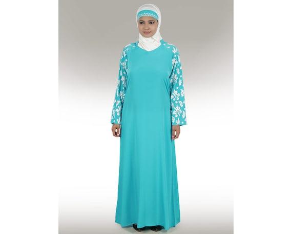 MyBatua schöne Abaya / Jilbab AY-185 islamische Kleidung