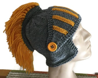a93735150d8 Knight Hat with Fringe Blade