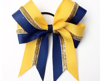 Two Color Custom Design Bow
