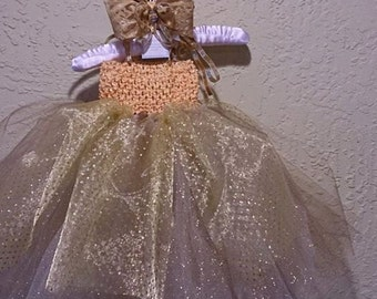 First Birthday dress, Golden baby tutu dress, Christmas dress,photoprop outfit, cake smash outfit, flower girl,sparkly baby outfit, pageant