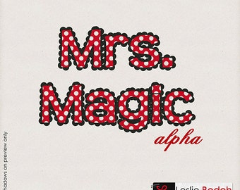 INSTANT DOWNLOAD**Mrs. Magic Alpha Pack - Digital Alpha Pack for Disney, Mickey Mouse, Vacations, School