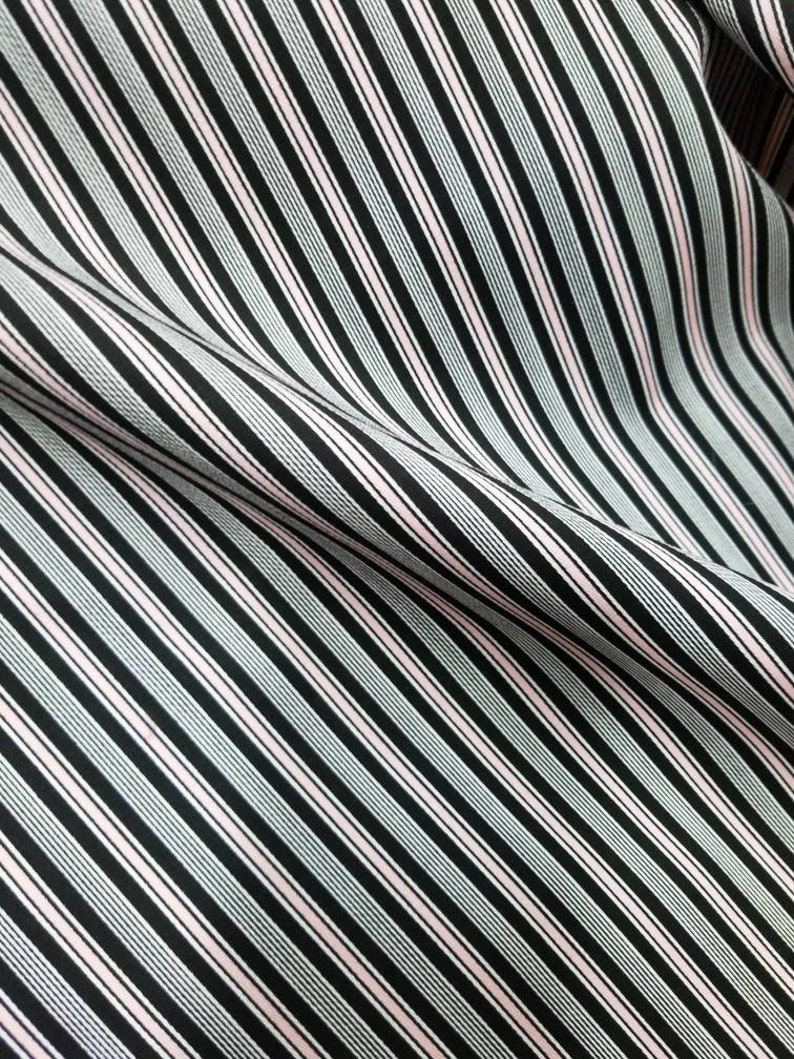 Upholstery accessories. Stretch cotton stripe fabric by yard  54 wide Interior Designs Can be used for Clothing