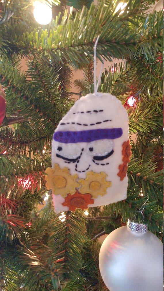Rick And Morty Christmas Ornaments.Rick And Morty Felt Christmas Ornament Gearhead