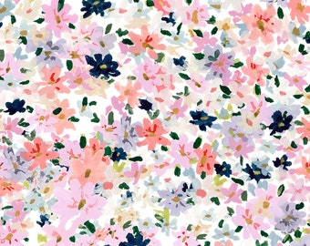 Floral wrapping paper etsy anna mini multi floral wrapping paper mightylinksfo