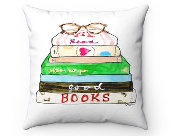 Read Good Books Pillow