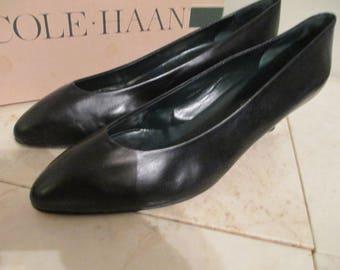 Cole Haan Black Kitten Heels 7ffcc1686