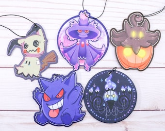 Gengar Mismagius Chandelure Mimikyu Pumpkaboo Air Fresheners Strong Smell Scent