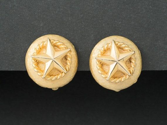 Vintage Nautical Star Earrings