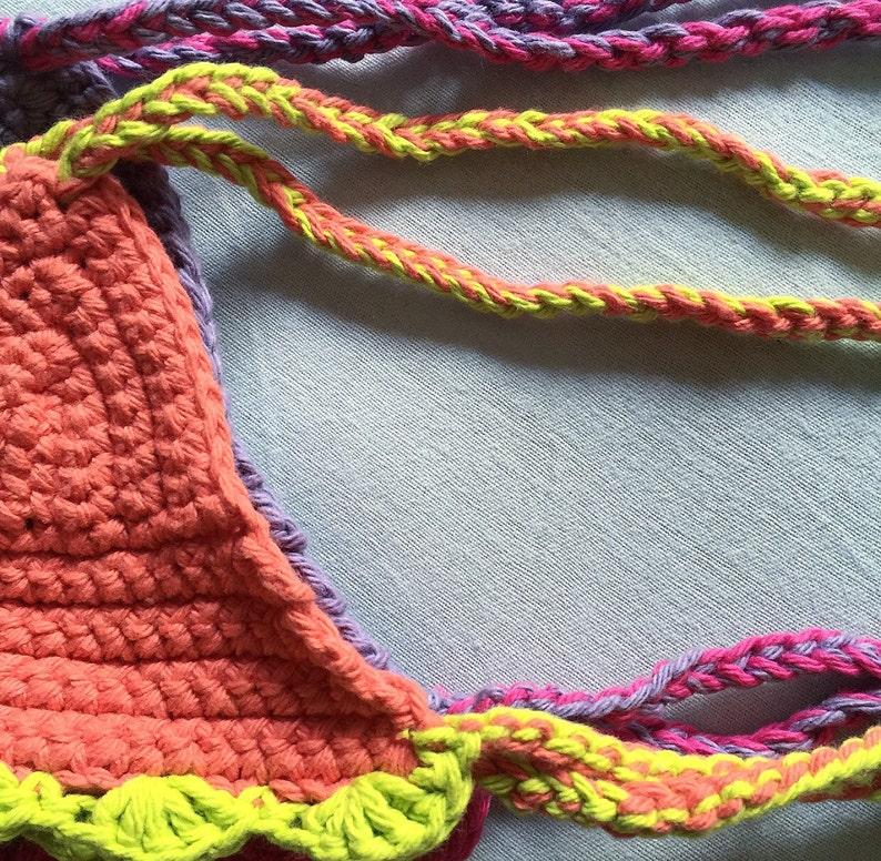 summer fashion L I T T L E S ||Crochet Childrens Crop Top children toddler infant gift for baby|| crochet halter top festival top
