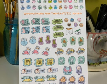 Weird Planner Stickers for Adults