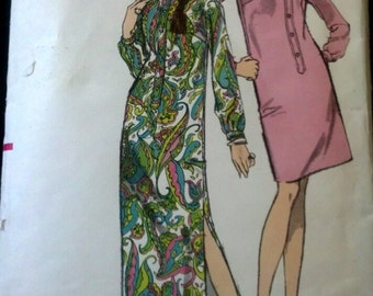 Vintage Vogue  One Piece dress Sewing Pattern