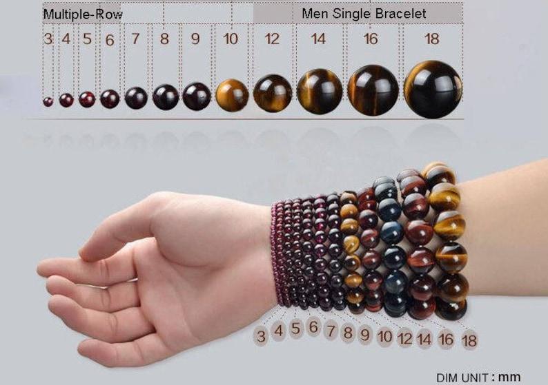 Mens Beaded Bracelets Gifts for Men for dad 4pc Mens Bracelet Set Your Choice w Black Onyx /& Lava Stone Boyfriend Gift for Him