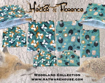 Hector & Florence - carry/bonding pouches and sleeping bags