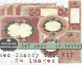 Vintage shabby chic TAGS Weddings craft fairs Handmade,Ivory card  Packs of 20