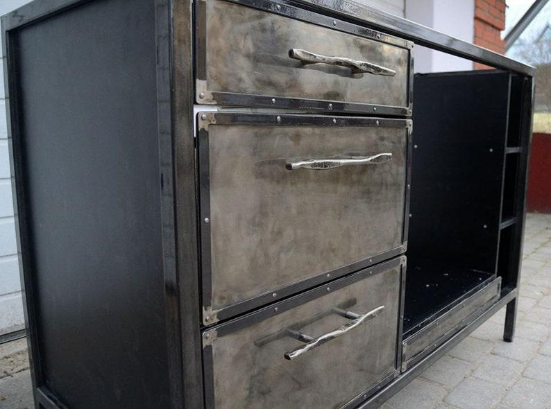 Industriele Keuken Industrial : Steampunk meubels industriële meubels industrial etsy