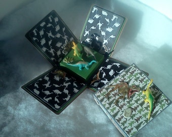 Dinosaur explosion box