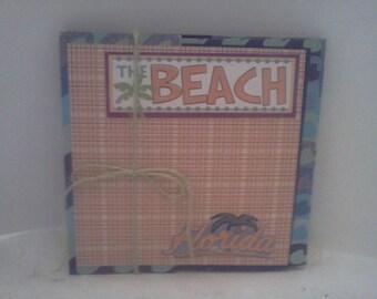 Beach Photo Book