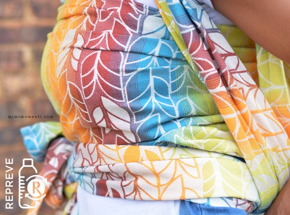 Omada Horizon With Repreve Baby Carrier Woven Wrap Size 4 Etsy