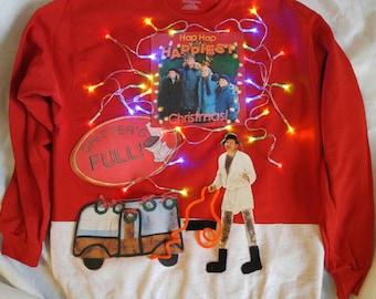 Ready to ship National Lampoons Christmas Vacation ugly Christmas Sweatshirt. Size large