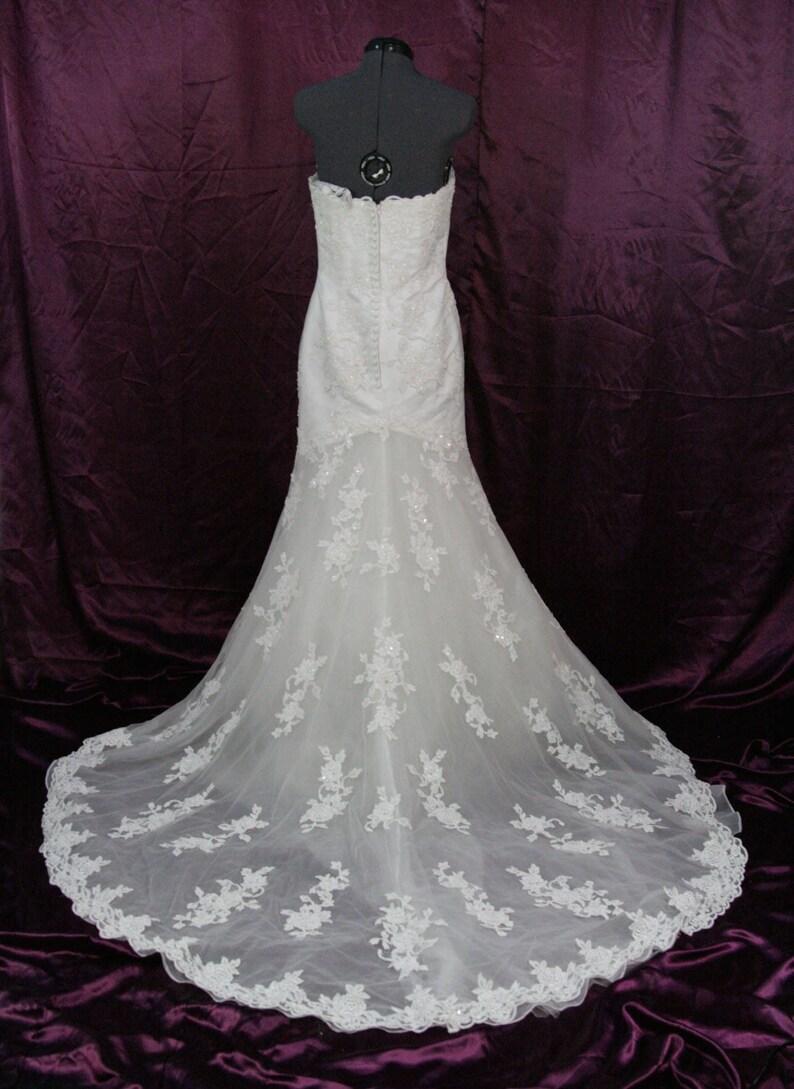 a466c0dd5ac3 Alfred Angelo Lace wedding dress size 6 | Etsy