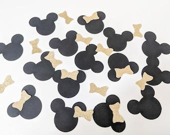 Oversized Minnie Mouse Glitter Confetti,  FREE SHIPPING